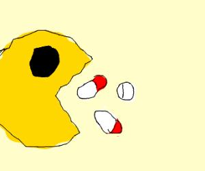 pacman takes medication