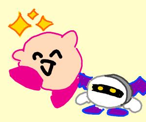 Kirby wins against Meta Knight