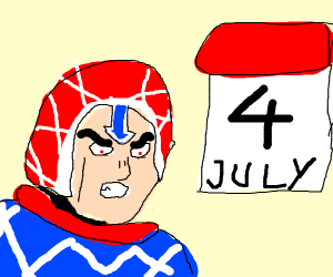 Mista (jojo) celebrating 4th of july!!!