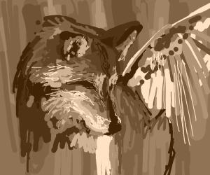 Angelic wolf