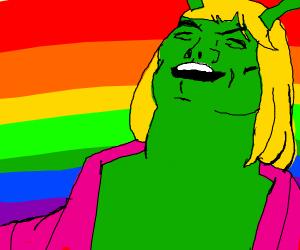 shrek as the he-man meme