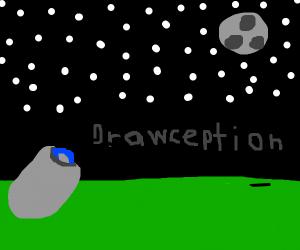 Drawception D aims for the moon