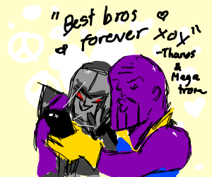 thanos and megatron being bros