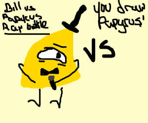 Papyrus and Bill Cipher Have A Rap Battle