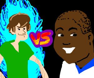 Ultra instinct shaggy vs Cory