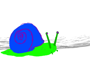 Abstract Snail