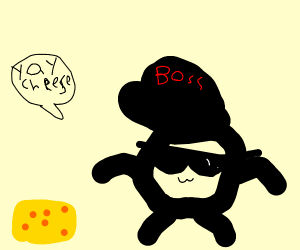 A Small Swaggy Man Found Cheese