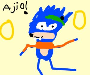 Ugly Sonic Drawception