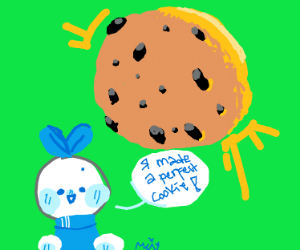 I have created the Perfect Cookie