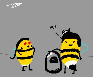 Seductive Bumble Bee
