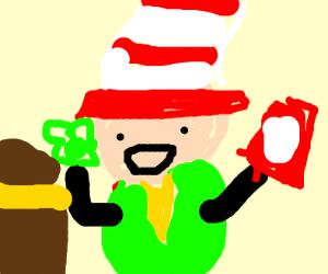 Dr. Seuss Leprechaun