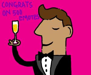 Congrats on 500 emotes :)