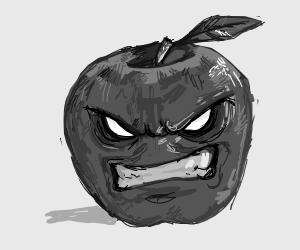 angry apple