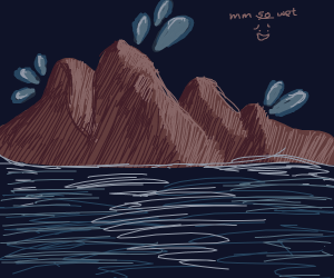 Moist mountain
