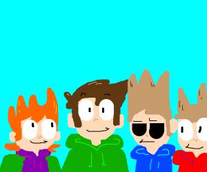 The eddsworld lads