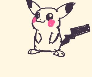 Mimikyu-tailed pikachu