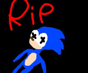 RIP SANIC :(