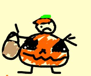 Halloween costume fail