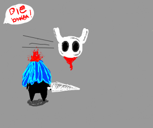 Hollow Knight decapitation
