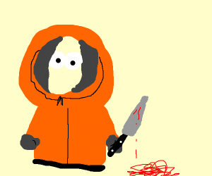 Kenny on a murderous rampage