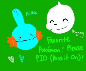 Favorite Pokemon Pass It On