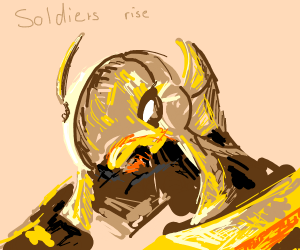 Azir commands his soldiers to rise