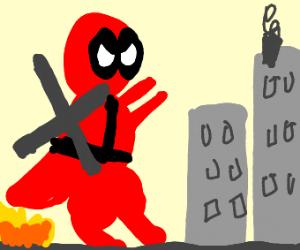 Deadpool is godzilla