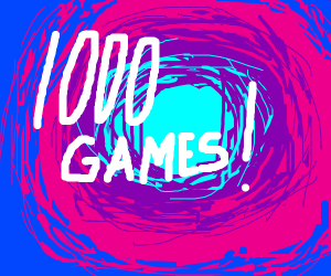1.000 games!