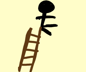 My friends poop in the shape of a ladder