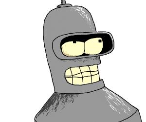 A narcissistic robot