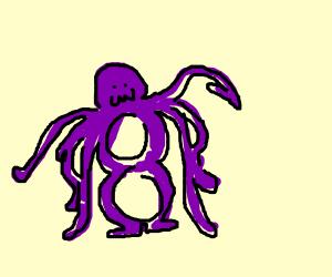 Octoling squid