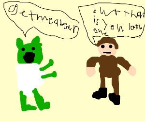 Alcoholic Yoda bosses Luke around