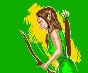 Elf Huntress