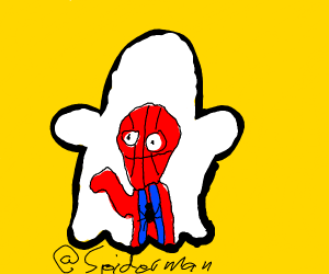 spiderman finally made a snapchat account