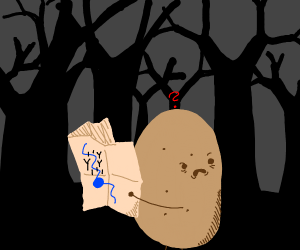 A lost potato