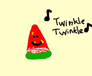 Watermelon singing