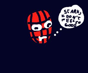 Spiderman doesn't feel so good