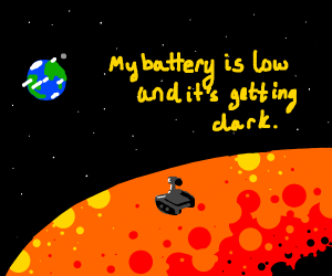 opportunity rover says goodbye