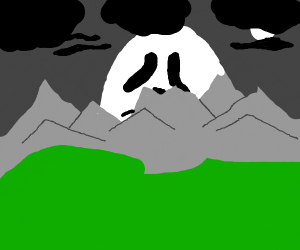 Ghost mountain
