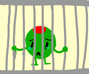 olive is in prison