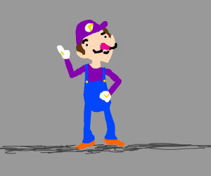 I think that's supposed to be Waluigi