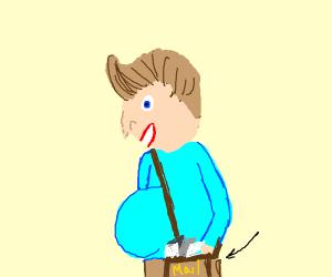 Pregnant Mailman