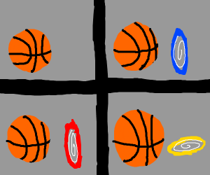 loss but with portals and basketball