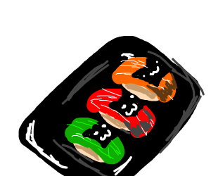 Sushi cat! So squishy and kyoot