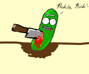 pickle rick gets murdered