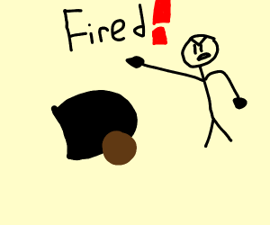 Cannon is fired from it's job