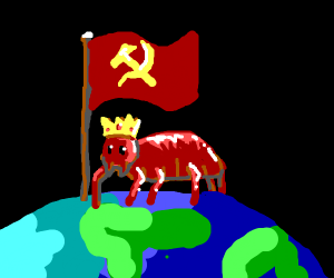 Communist beetle will rule the world!