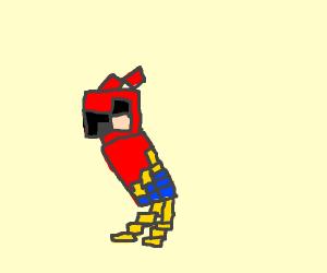 parrot pixel art