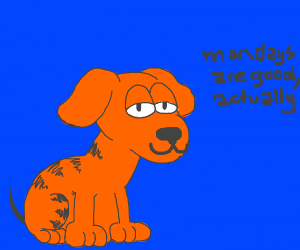 what if garfield was a dog!