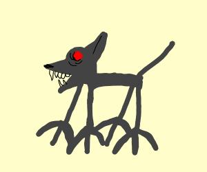 Grey four-legged animal